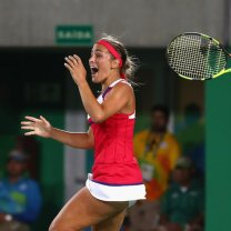 Monica Puig at Olympics